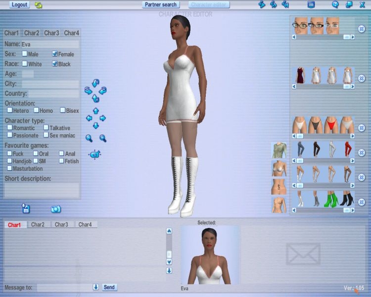 Screenshot 24 of Introducing our 3d Software for Love Games Software