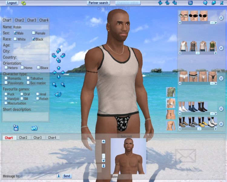 Screenshot 38 of Introducing our 3d Software for Love Games Software