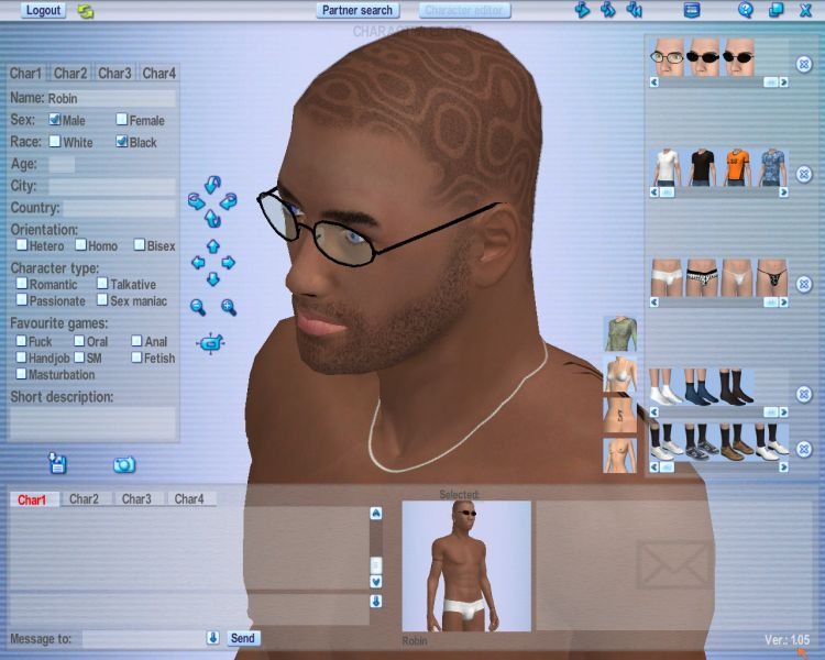 Screenshot 44 of Introducing our 3d Software for Love Games Software