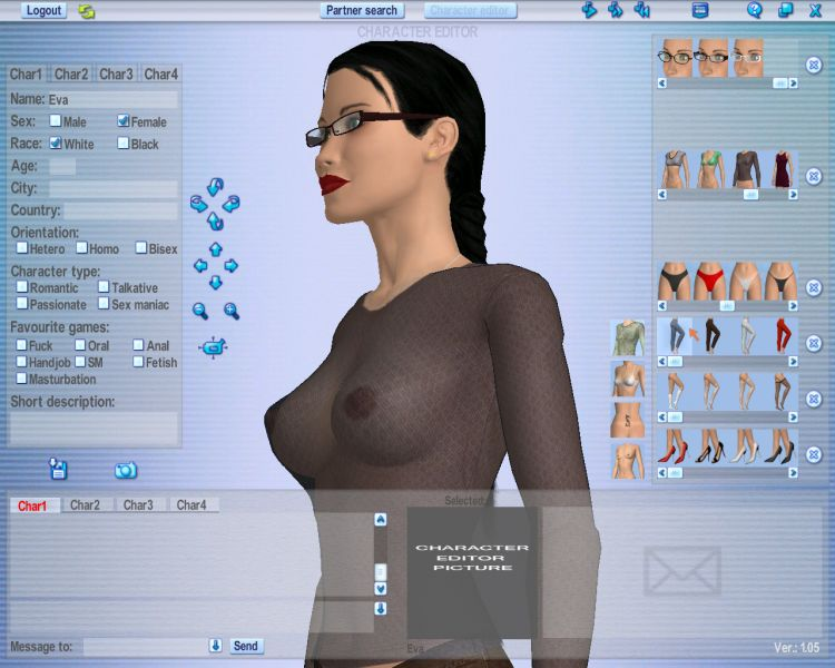 Screenshot 08 of Join our Love Games Community Software