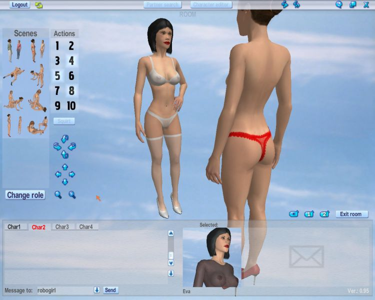 Play Love Games while 3d Online Dating
